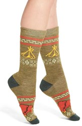 Pendleton Women's 'Camp' Crew Socks