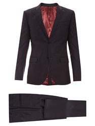 Gucci Monaco Single Breasted Wool Suit