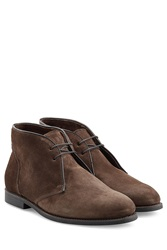 Ludwig Reiter Suede Desert Boots Brown