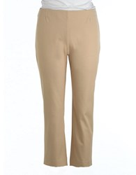 Lord And Taylor Kate Classic Capris Latte
