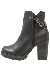 Replay Elisa High Heeled Ankle Boots Schwarz Black