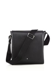 Montblanc Leather North South Bag Black