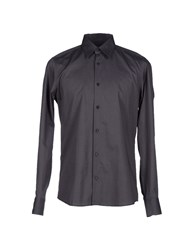 Lab. Pal Zileri Shirts Shirts Men Steel Grey