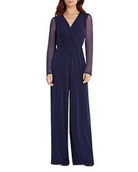 Bcbgeneration Wide Leg Jumpsuit Deep Blue
