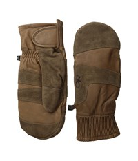 Outdoor Research Rivet Mitts Coffee Extreme Cold Weather Gloves Brown