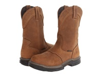 Wolverine Anthem Multishox Contour Welt Waterproof Western Wellington Brown Men's Waterproof Boots