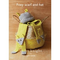 Erika Knight For John Lewis Fox Scarf And Hat Knitting Pattern