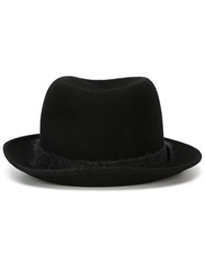 Neil Barrett Pork Pie Hat Black