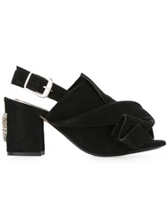 N 21 No21 Cat Face Sandals Black
