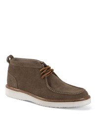 Andrew Marc New York Haven Suede Boots Caribbean