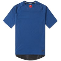Nike Bonded Knit Tee Blue