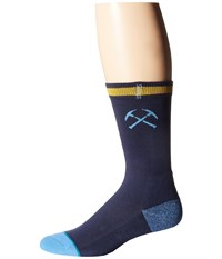 Stance Nuggets Arena Logo Navy Crew Cut Socks Shoes