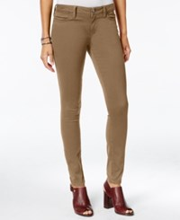 Tommy Hilfiger Sateen Colored Wash Jeggings Only At Macy's Tobacco Brown