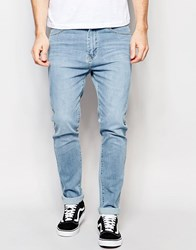 Dr. Denim Dr Denim Snap Skinny Jeans Light Wash Blue Light Wash Blue