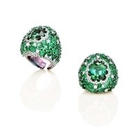 Arunashi Green Tourmaline Emerald And Opal Ring