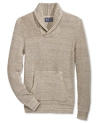 American Rag Men's Shawl Collar Sweater Only At Macy's Oat Hthr