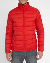 M.Studio Red Armand Ultralight Down Jacket