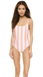 Wildfox Couture Hotel Stripe Swimsuit