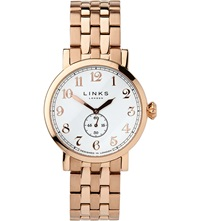 Links Of London Greenwich Gold Plated Watch