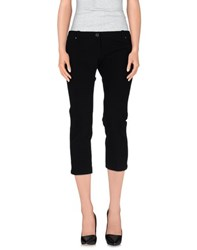 Elisabetta Franchi Trousers 3 4 Length Trousers Women Black