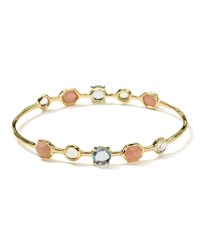 Ippolita 18K Gelato Oval Bangle Silk Road Dream
