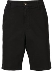 Joe's Jeans Knee Length Chino Shorts Black