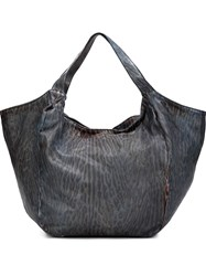 Numero 10 'Rodeo' Tote Bag Blue