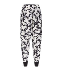 Stella Mccartney Joey Horse Print Trousers Female Black