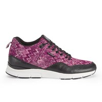 Gourmet Men's 35 Tx Trainers Raspberry Black Pink