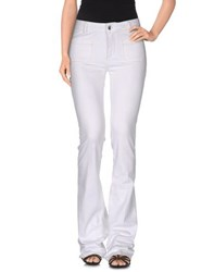 Liu Jo Jeans Denim Denim Trousers Women White