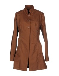 Amy Gee Coats And Jackets Full Length Jackets Women Brown