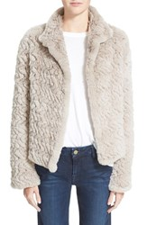Women's Joie 'Worley' Genuine Rabbit Fur Jacket