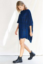 Urban Renewal Auntie Oti Caftan Dress Blue