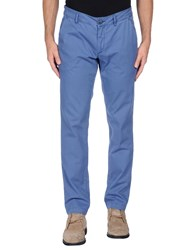 Alessandro Dell'acqua Trousers Casual Trousers Men Pastel Blue