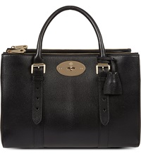 Mulberry Bayswater Double Zip Tote Black