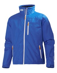 Helly Hansen Crew Midlayer Jacket Racer Blue