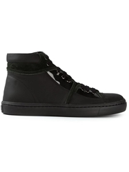 Opening Ceremony 'Mallory' Hi Top Sneakers Black