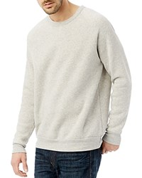 Alternative Apparel The Champ Fleece Crewneck Sweatshirt Eco Oatmeal
