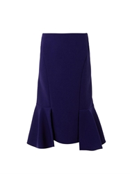 Marni Fishtail Wool Crepe Skirt