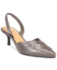 Impo Eilis Pointed Toe Pumps Women's Shoes Smokey Taupe