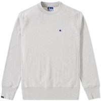 Champion X Beams Zip Crew Sweat Grey