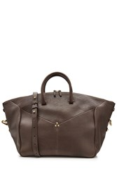 Jerome Dreyfuss Leather Tote Brown