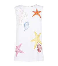Emilio Pucci Shell Detail Top Female White