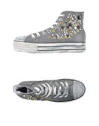 Happiness High Tops And Trainers Grey
