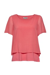 Great Plains Featherweight Jersey Layer Tee Pink
