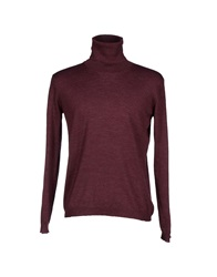 Zanone Turtlenecks Deep Purple
