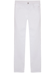 Gerard Darel Amazone Slim Fit Jeans White