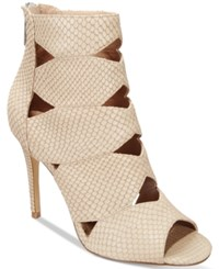 Charles By Charles David Reform Cutout Dress Booties Women's Shoes Taupe