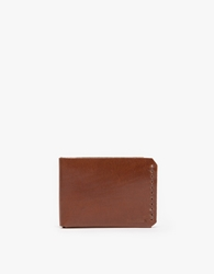 Billykirk Bi Fold Wallet In Tan