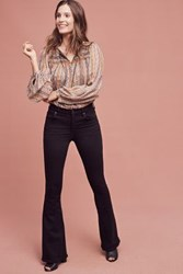 Anthropologie Citizens Of Humanity Fleetwood Petite High Rise Flare Jeans Black